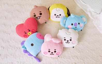 LINE FRIENDS BT21 BABY BOUCLE CUSHION