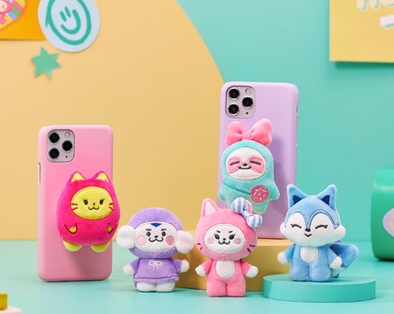 LINE FRIENDS [PRE-ORDER] WDZY DOLL POP SOCKET