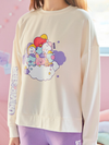 LINE FRIENDS WHITE / S BT21 BABY A DREAM OF BABY LOUNGE WEAR SET