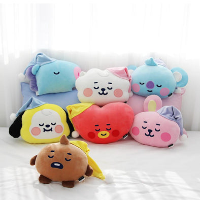 NARA HOME DECO BT21 BABY A DREAM OF BABY FACE CUSHION