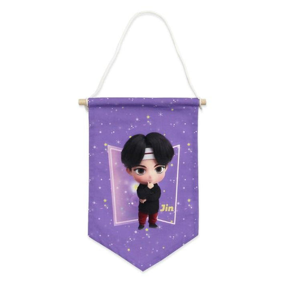 NARA HOME DECO BTS TINYTAN FABRIC FLAG