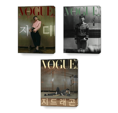 NAVER SHOPPING All(A+B+C) VOGUE KOREA MAGAZINE NOVEMBER 2020 GD COVER