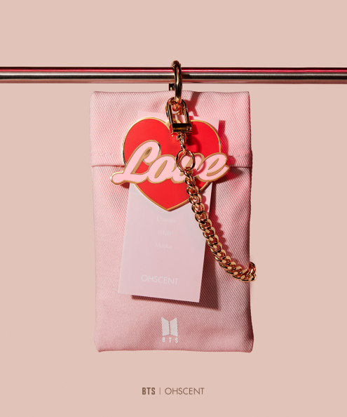 OHSCENT 03 PERFUME SACHET BTS X OHSCENT BOY WITH LUV OFFICIAL MD