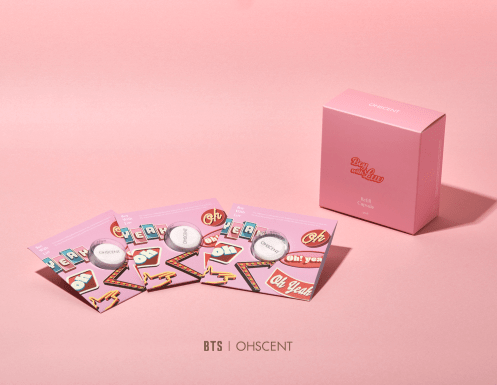 OHSCENT 04 REFILL CAPSULE 3PACK BTS X OHSCENT BOY WITH LUV OFFICIAL MD
