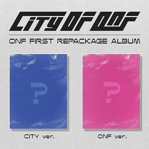 [PR] Apple Music ALL(CITY+ONF) [PRE-ORDER] ONF - 1ST REPACKAGE ALBUM [CITY OF ONF]