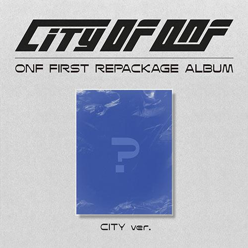 [PR] Apple Music CITY ver. [PRE-ORDER] ONF - 1ST REPACKAGE ALBUM [CITY OF ONF]