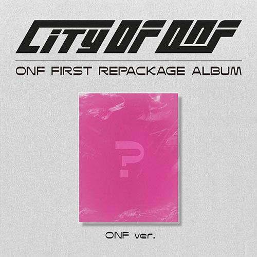 [PR] Apple Music ONF ver. [PRE-ORDER] ONF - 1ST REPACKAGE ALBUM [CITY OF ONF]