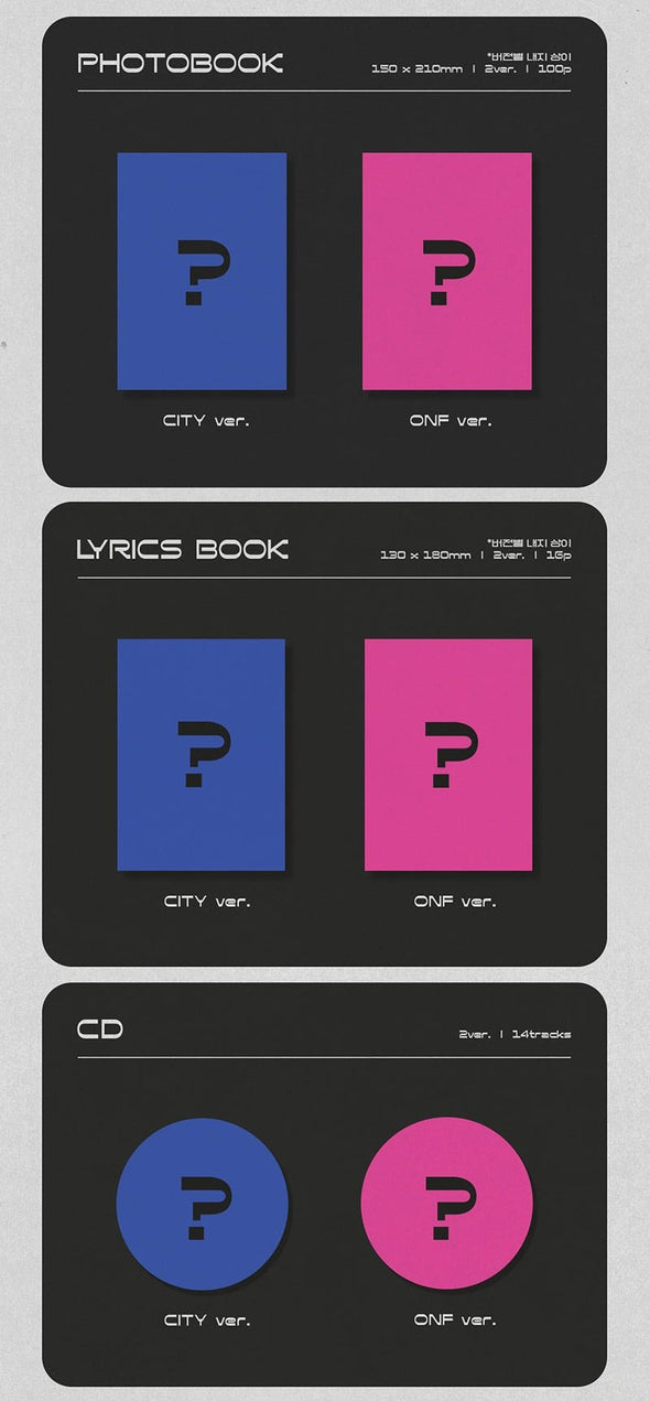[PR] Apple Music [PRE-ORDER] ONF - 1ST REPACKAGE ALBUM [CITY OF ONF]