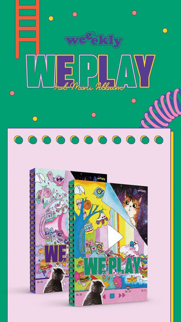 [PR] Apple Music [PRE-ORDER] WEEEKLY - 3RD MINI ALBUM [WE PLAY]