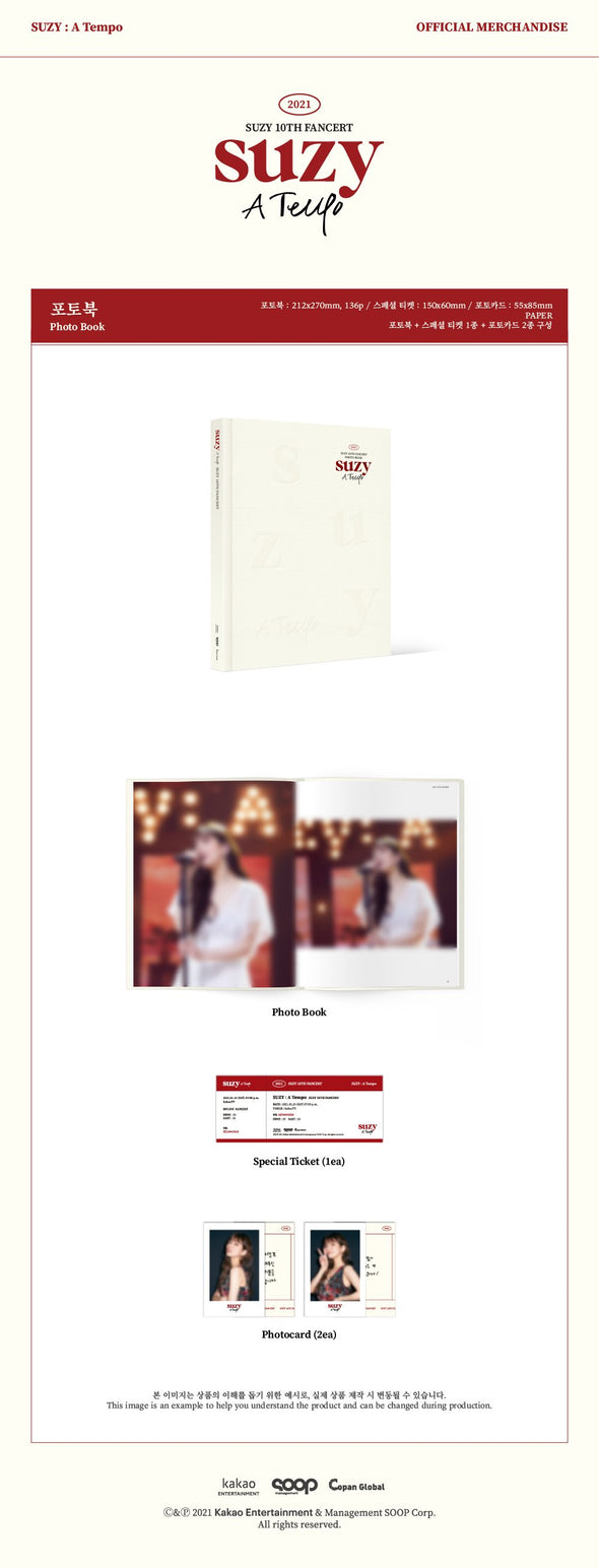 [PR] WITHDRAMA [PRE-ORDER] SUZY - PHOTO BOOK [A TEMPO]