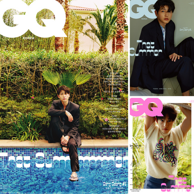 덕원 [PRE-ORDER] GQ MAGAZINE JUNE 2021 SONG JOONG KI COVER
