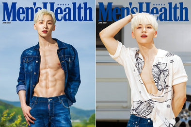 덕원 [PRE-ORDER] MEN'S HEALTH MAGAZINE JUNE 2021 AB6IX JEON WOONG COVER