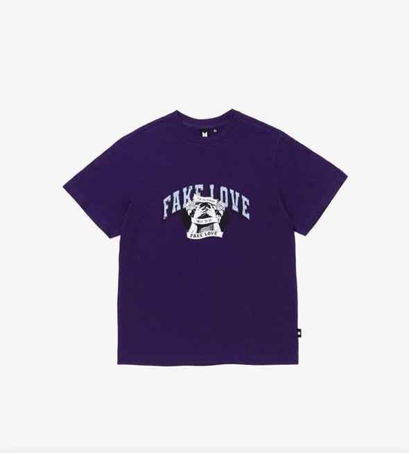 Weverse Shop 07 Purple / M BTS POP-UP : MAP OF THE SOUL - VARSITY S/S TEE