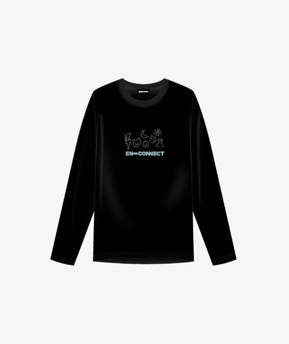 Weverse Shop 12 LONG SLEEVE T-SHIRT (M) [PRE-ORDER] ENHYPEN OFFICIAL MD [EN-CONNECT]