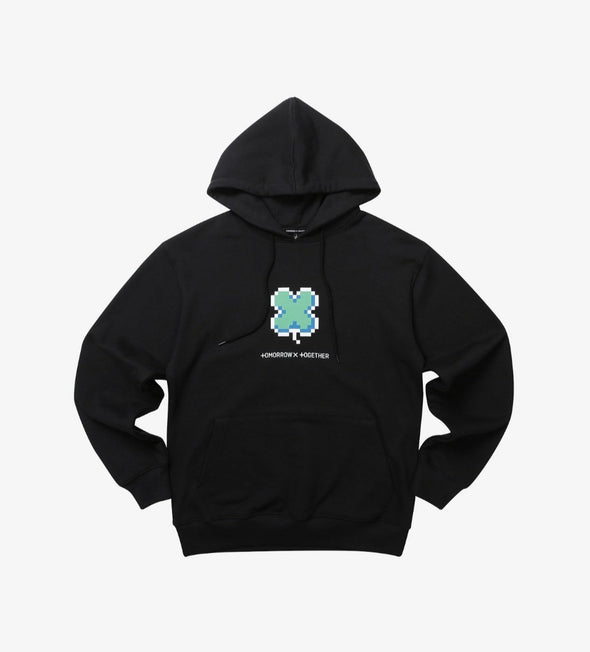 Weverse Shop BLACK HOODY 01 M [PRE-ORDER] TXT BLUE HOUR OFFICIAL UNIFORM