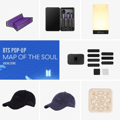 Weverse Shop BTS POP-UP : MAP OF THE SOUL - ON & LOGO VER.2