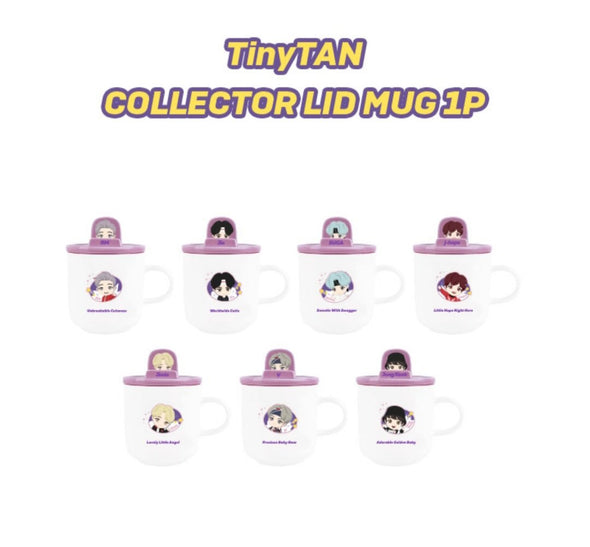 Weverse Shop COLLECTOR LID MUG JUNGKOOK [PRE-ORDER] BTS TINYTAN NEW MD NOVEMBER