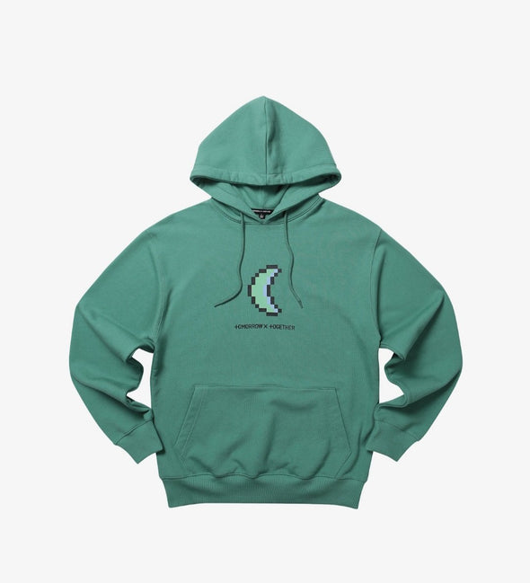 Weverse Shop GREEN HOODY 02 M [PRE-ORDER] TXT BLUE HOUR OFFICIAL UNIFORM
