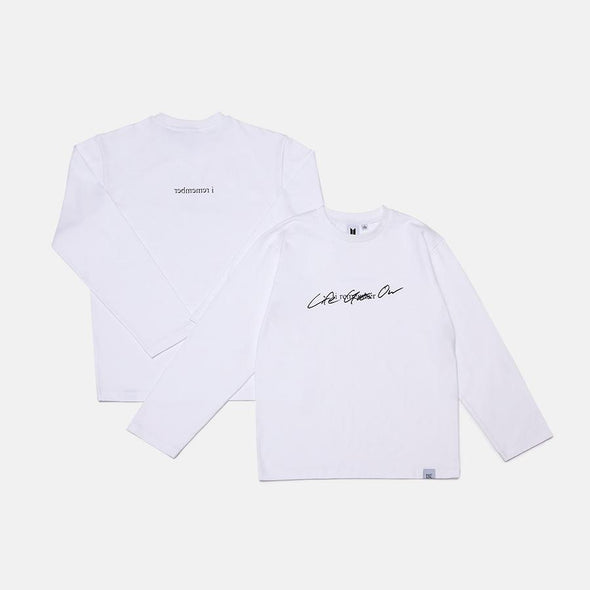 Weverse Shop LONG SLEEVE T-SHIRTS M [PRE-ORDER] BTS BE ALBUM OFFICIAL MD