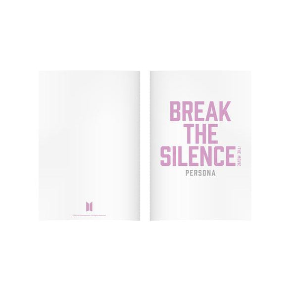 Weverse Shop NOTE 01 BTS - BREAK THE SILENCE OFFICIAL MD