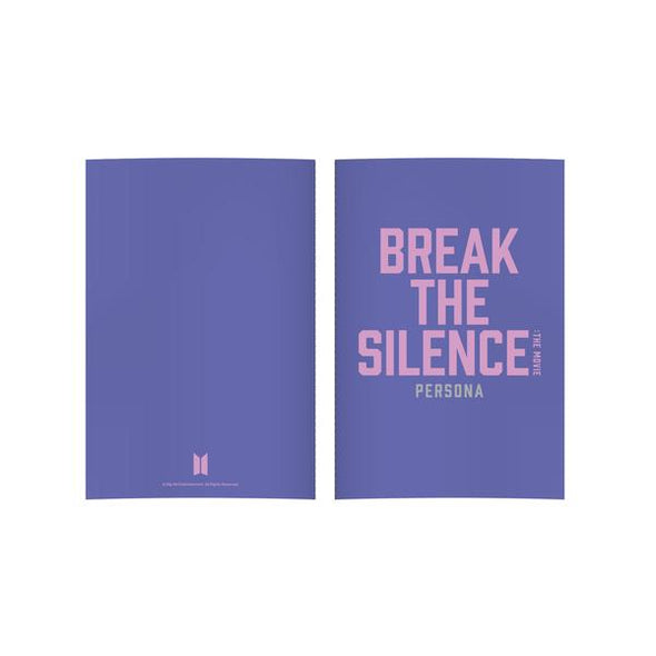 Weverse Shop NOTE 02 BTS - BREAK THE SILENCE OFFICIAL MD