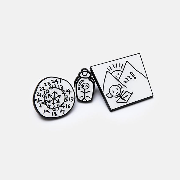 Weverse Shop PIN BADGE SET [PRE-ORDER] BTS BE ALBUM OFFICIAL MD