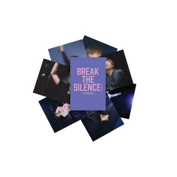Weverse Shop POSTCARD SET BTS - BREAK THE SILENCE OFFICIAL MD