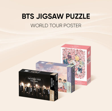 Weverse Shop [PRE-ORDER] BTS JIGSAW PUZZLE WORLD TOUR POSTER