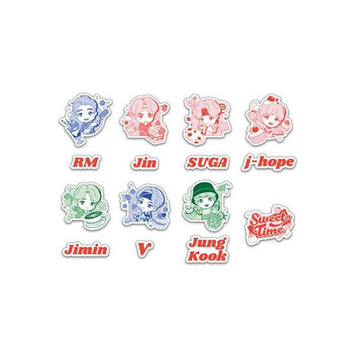 Weverse Shop [PRE-ORDER] BTS TINYTAN REMOVABLE STICKER (SWEET TIME)