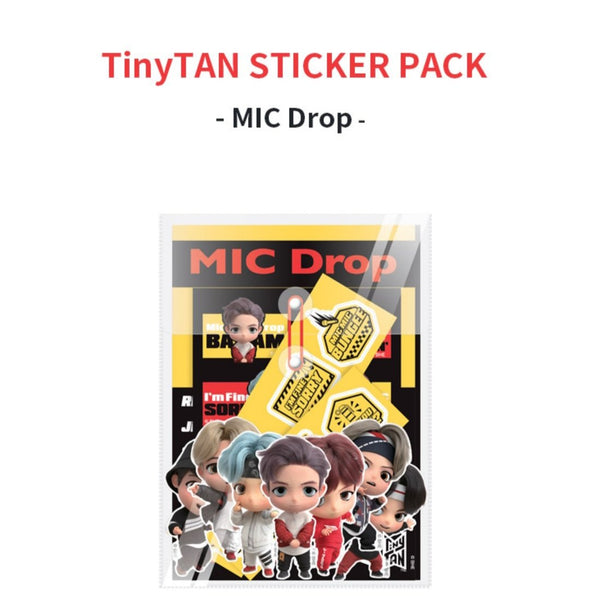 Weverse Shop STICKER PACK [PRE-ORDER] BTS TINYTAN NEW MD NOVEMBER