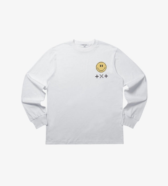 Weverse Shop WHITE LONG SLEEVES M [PRE-ORDER] TXT BLUE HOUR OFFICIAL UNIFORM
