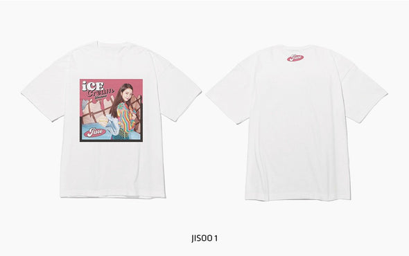 YG SELECT TYPE2_JISOO 1 / M [PRE-ORDER] BLACKPINK - OFFICIAL MD [ICECREAM] 2ND CLOTHES LINE