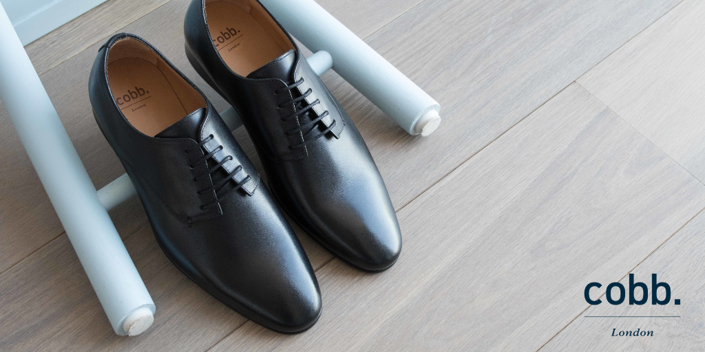 mens black leather derby shoes