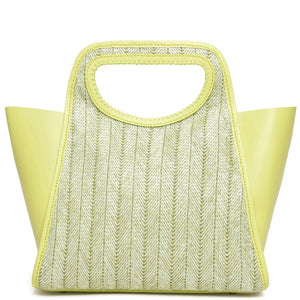 Cupidon Large <span>Raffia Limoncello / Yellow</span>