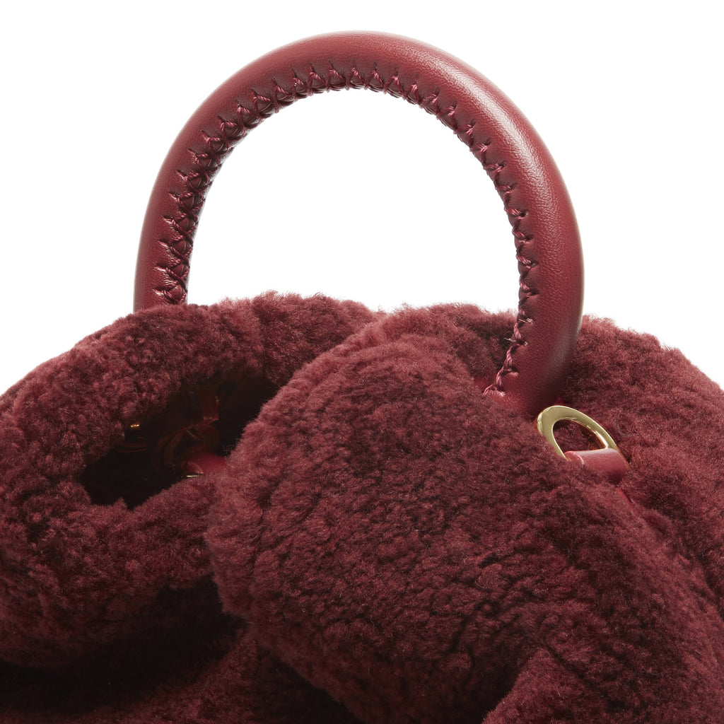 Baozi - Shearling Teddy <span>Burgundy</span>