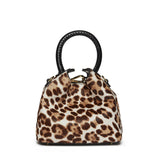 Madeleine - Pony Hair Leopard/Black