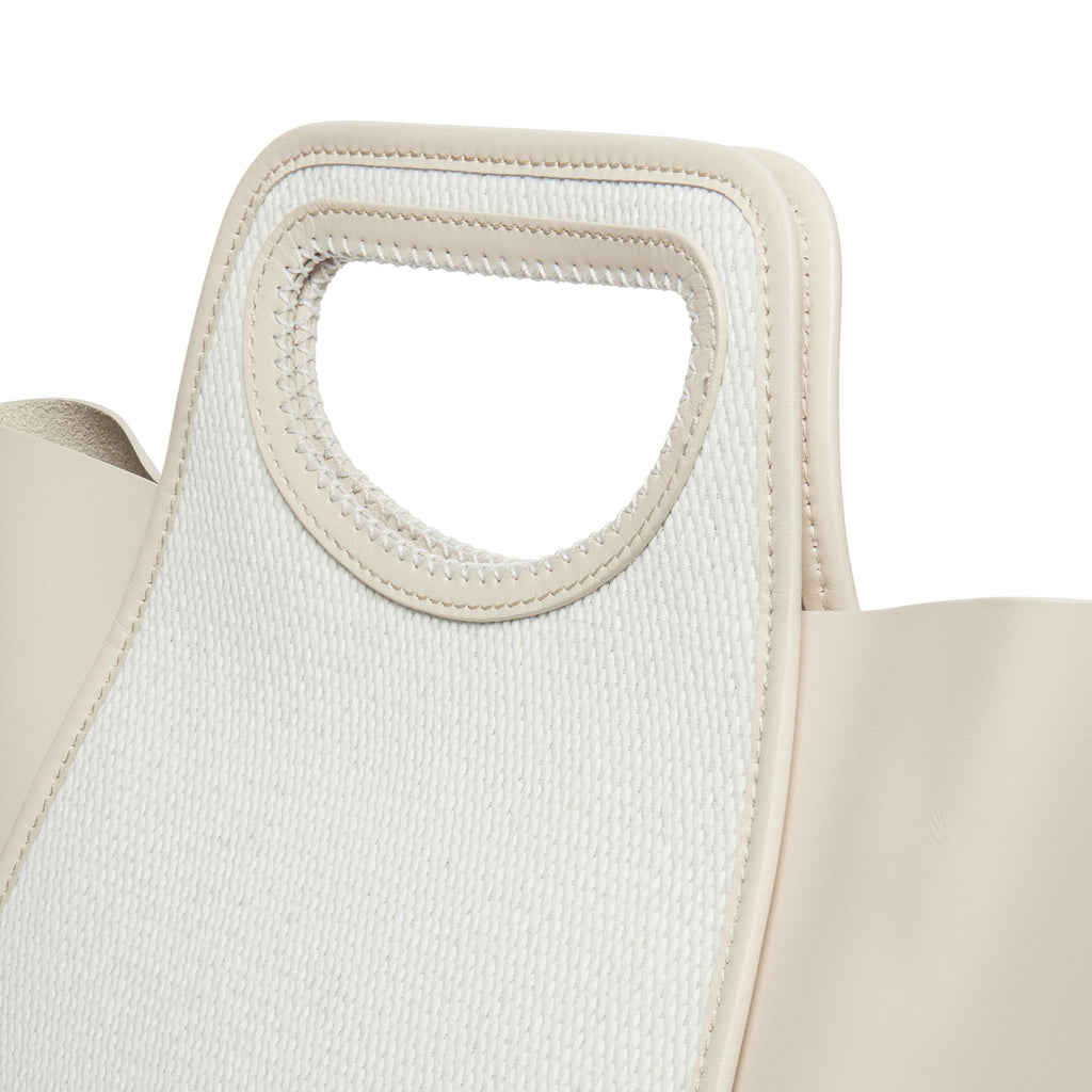 Cupidon Medium <span>Raffia White / Beige</span>