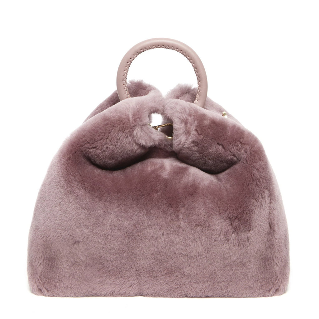 Raisin Shearling <span>Montone Mauve</span>