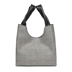 Shopper Plaid Grey