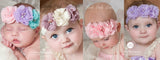Babies Fabric Flower Headband