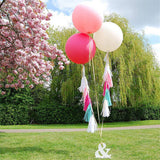 "Giant 36"" Latex Balloons, 5 pcs"