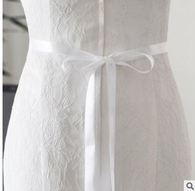 Pearl Bridal Belt in White, Ivory or Champagne