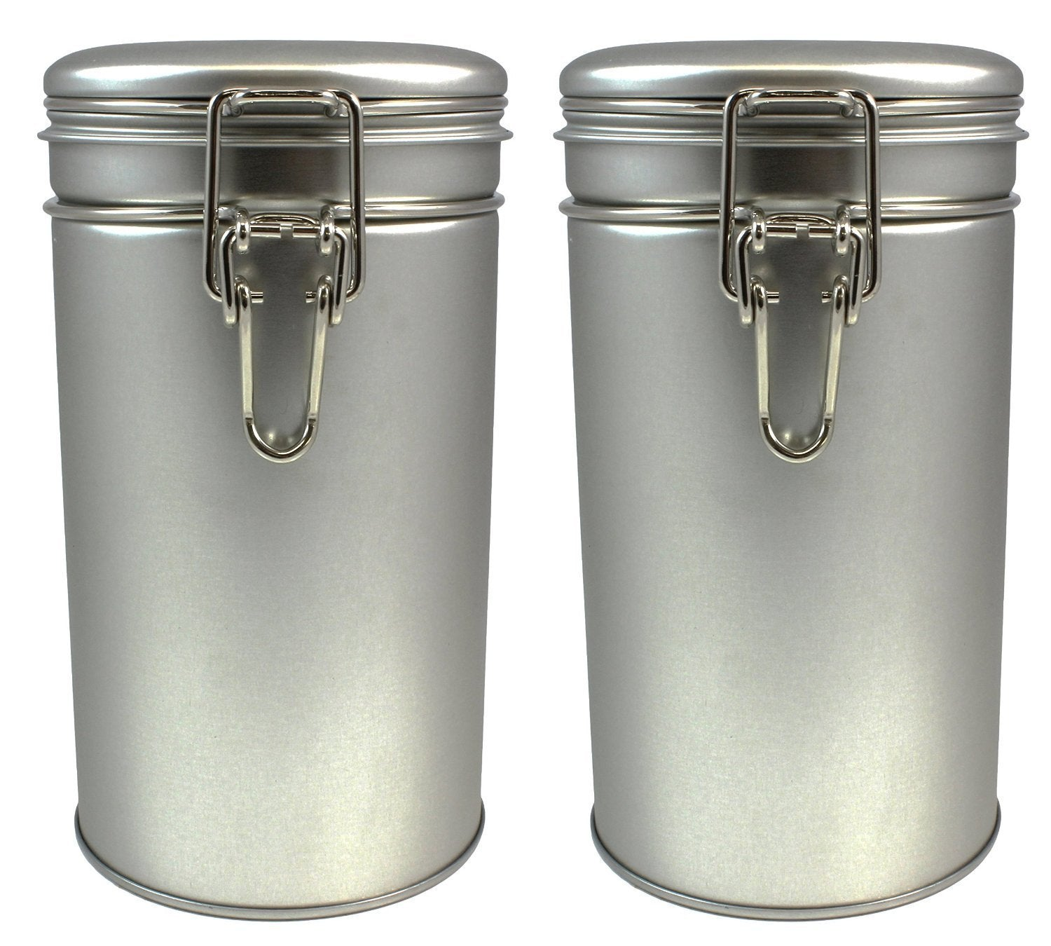 Air Tight Metallic Tea Containers