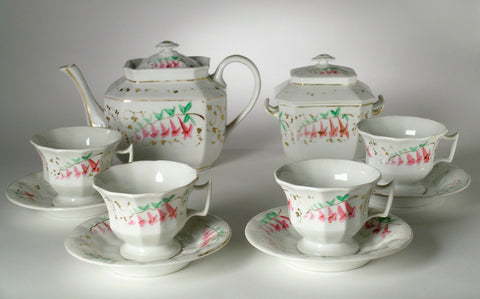 Matching Floral Tea Set