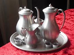 12 Piece Silver Tea Set