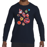 GoorooV Ornament Men's Crew Neck Sweat Shirt - ParisMETROCouture.com