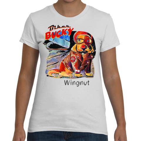 Biker Bucky's Wingnut the Dog for Women - ParisMETROCouture.com
