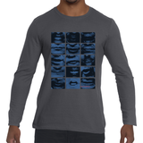 GoorooV Breaking News Men's Long Sleeve T - ParisMETROCouture.com