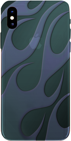 PMC iPhone 8 Case - Flame - Stone - ParisMETROCouture.com