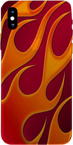PMC iPhone 8 Case - Flame - Hot Rod - ParisMETROCouture.com